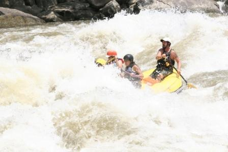 14' Saturn guided on the Gauley