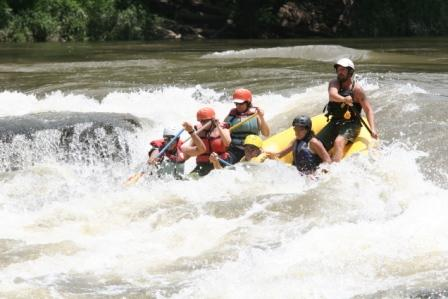 14' Saturn Raft in BIG Whitewater