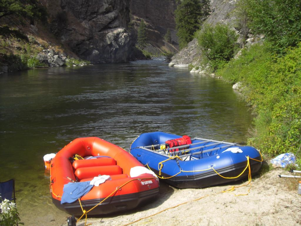 "14' Saturn Whitewater Raft and 14'6"" Saturn Raft"