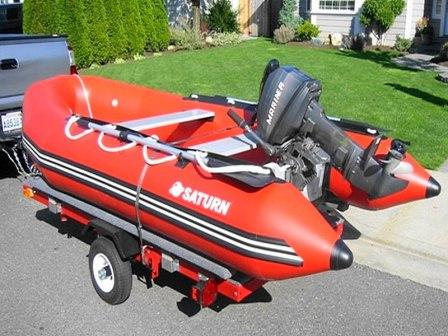 12' Saturn Dinghy Tender SD365