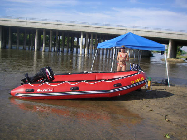 13' Saturn Dinghy Tender SD385