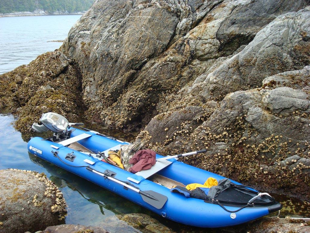 Customer Photo - Older Version 15' Blue Saturn KaBoat SK470