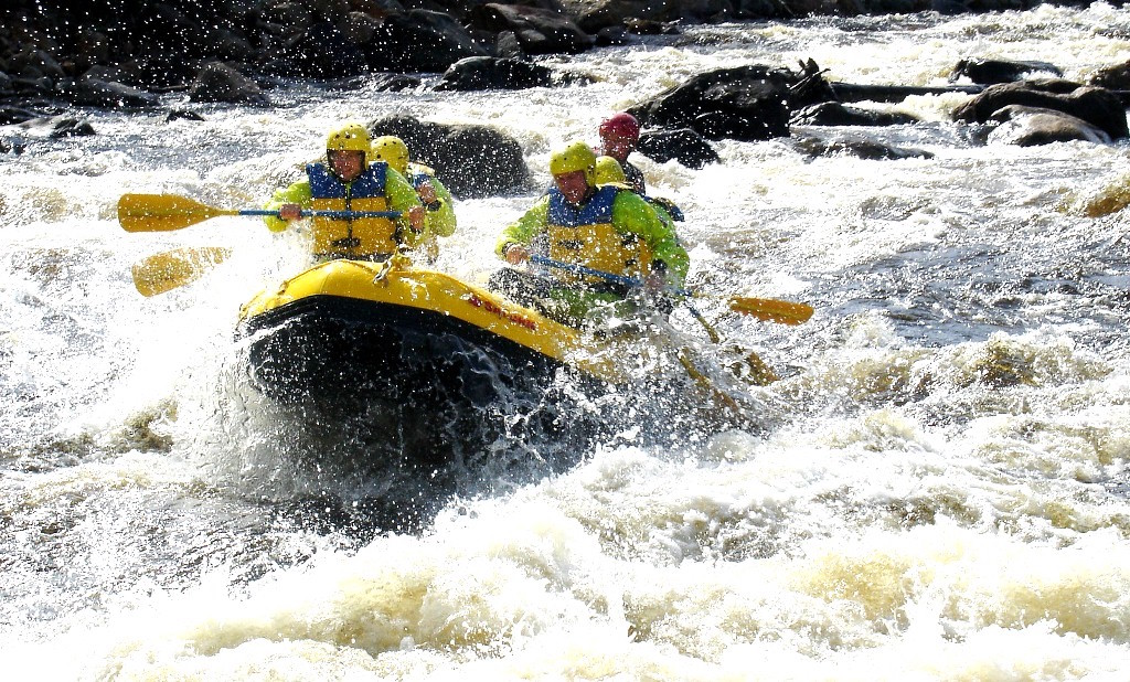 13' Saturn Whitewater Raft with Commercial Outfitter