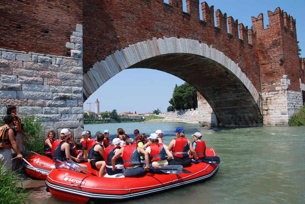 Customer Photo - 14' Saturn Whitewater Raft - Italy