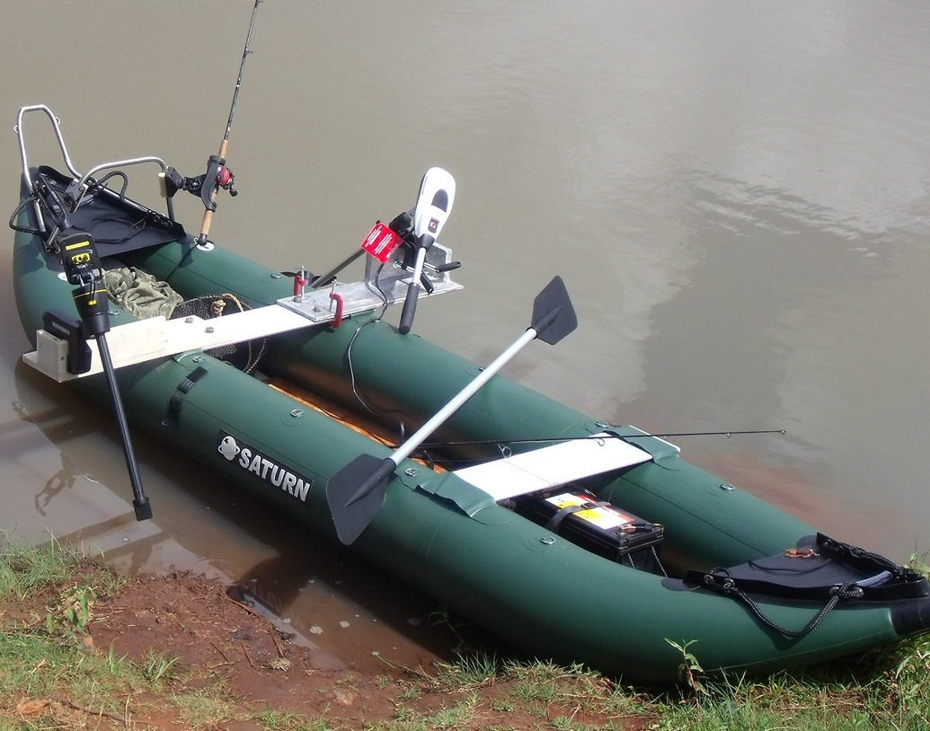 Customer Photo - 13' Saturn Fishing Kayak FK396 - Customizations Made by Customer