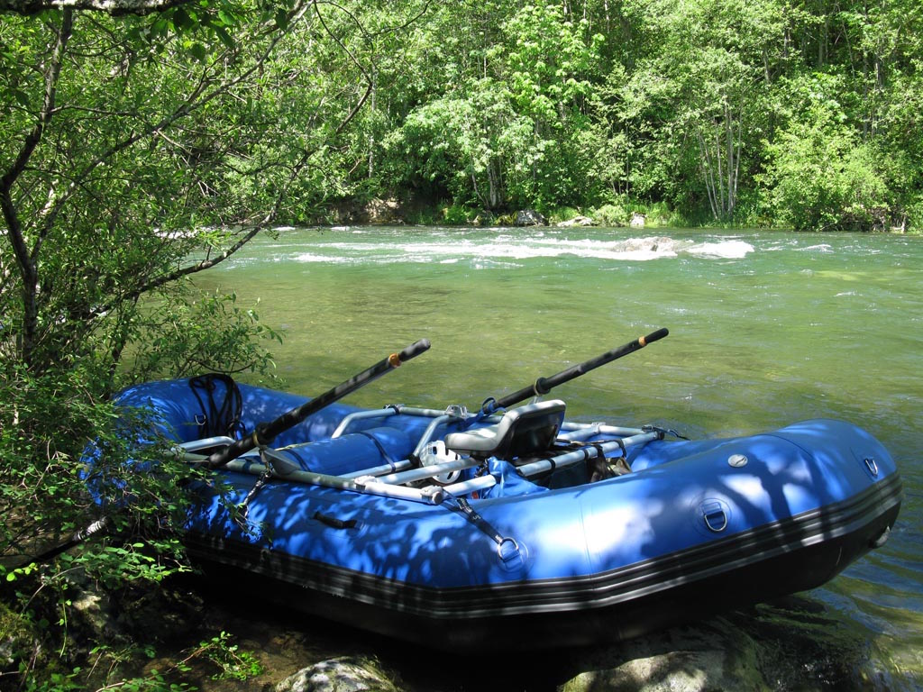 13' Saturn Whitewater Raft with NRS Bighorn Frame