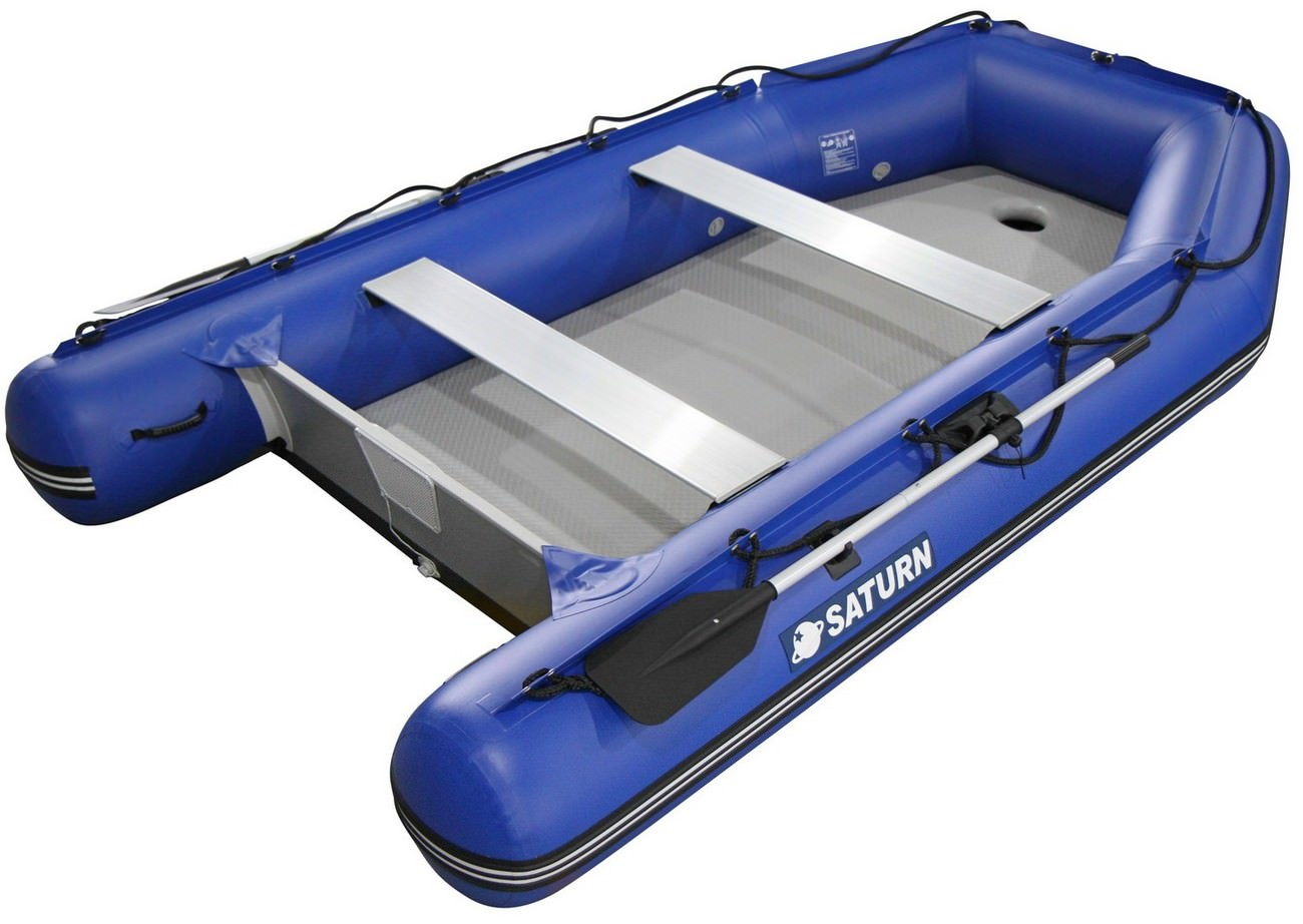 11' Saturn Wide Dinghy SD330W - Blue