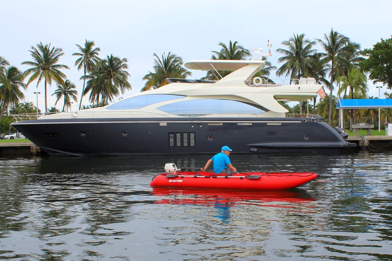 15' Saturn KaBoat SK470 - Red - Nicer Boat!