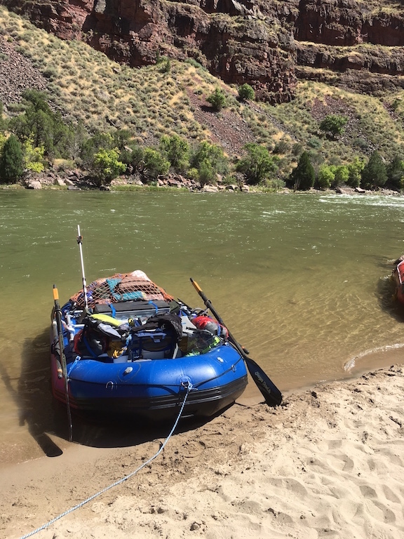 "Customer Photo - 2010 Model 14'6"" Saturn Raft (Still Going Strong After 7 Years)"