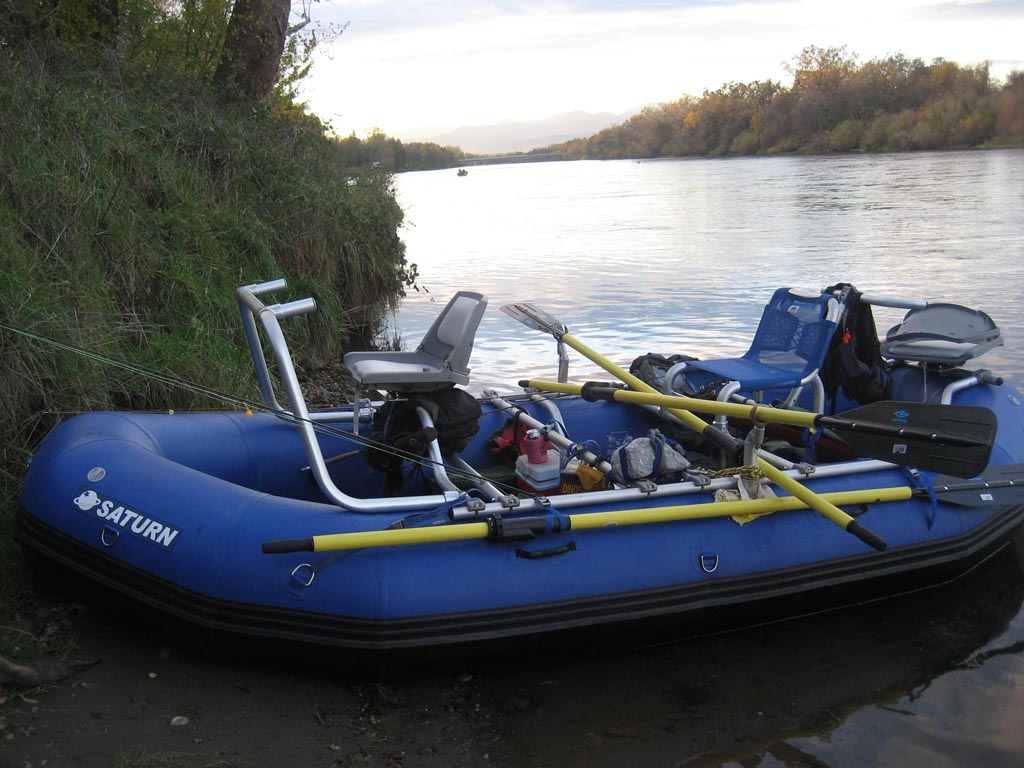 Customer Review Photo - 15' Saturn Whitewater Raft with Fishing Frame Package