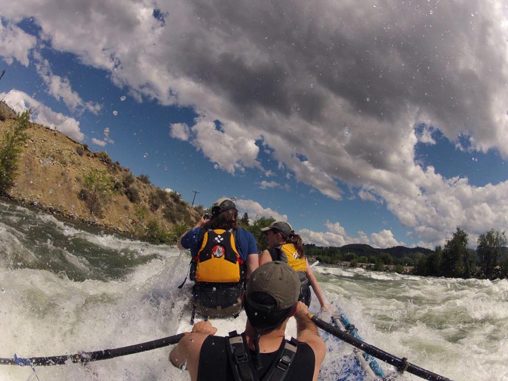 Customer Review Photo - 15' Saturn Whitewater Raft - Day Trips are Great