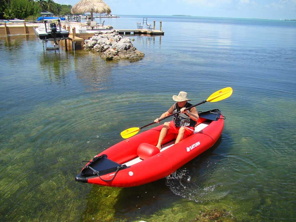Customer Photo - 13' Saturn Inflatable Expedition Kayak RK396 - Great for 1 or 2 People