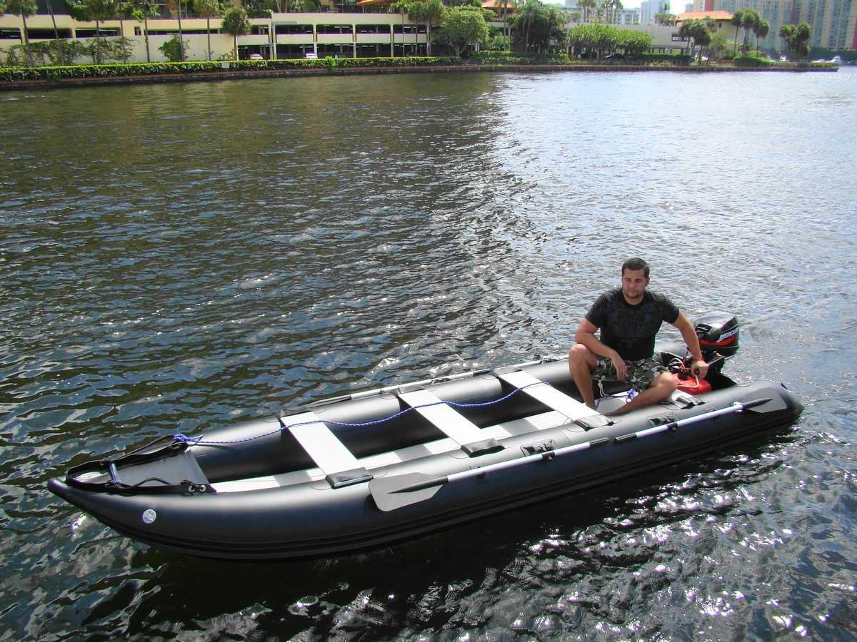 Customer Photo - Older Version 16' Saturn KaBoat SK487