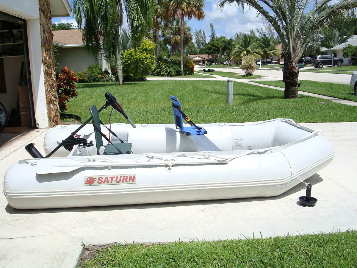 Customer Photos - 11' Saturn Inflatable Boat SD330W