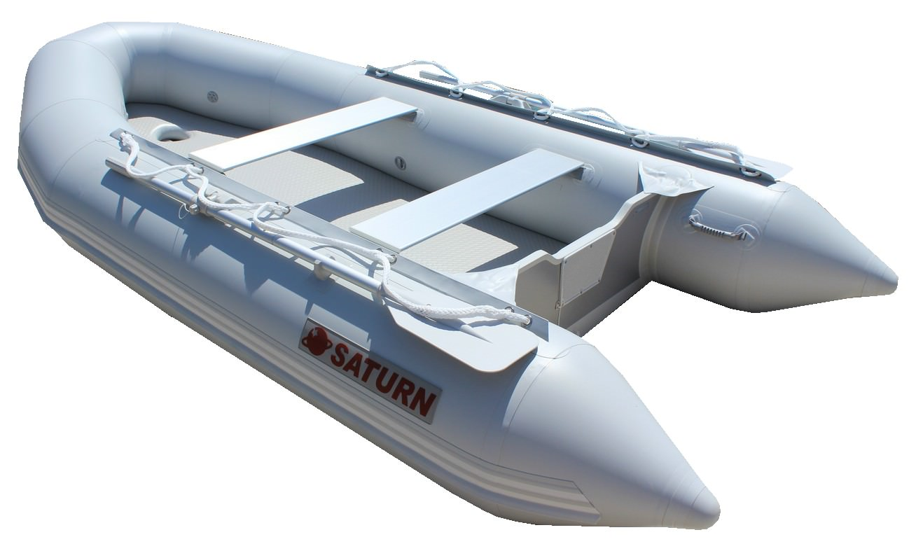 2' Saturn Inflatable Boat - Rear