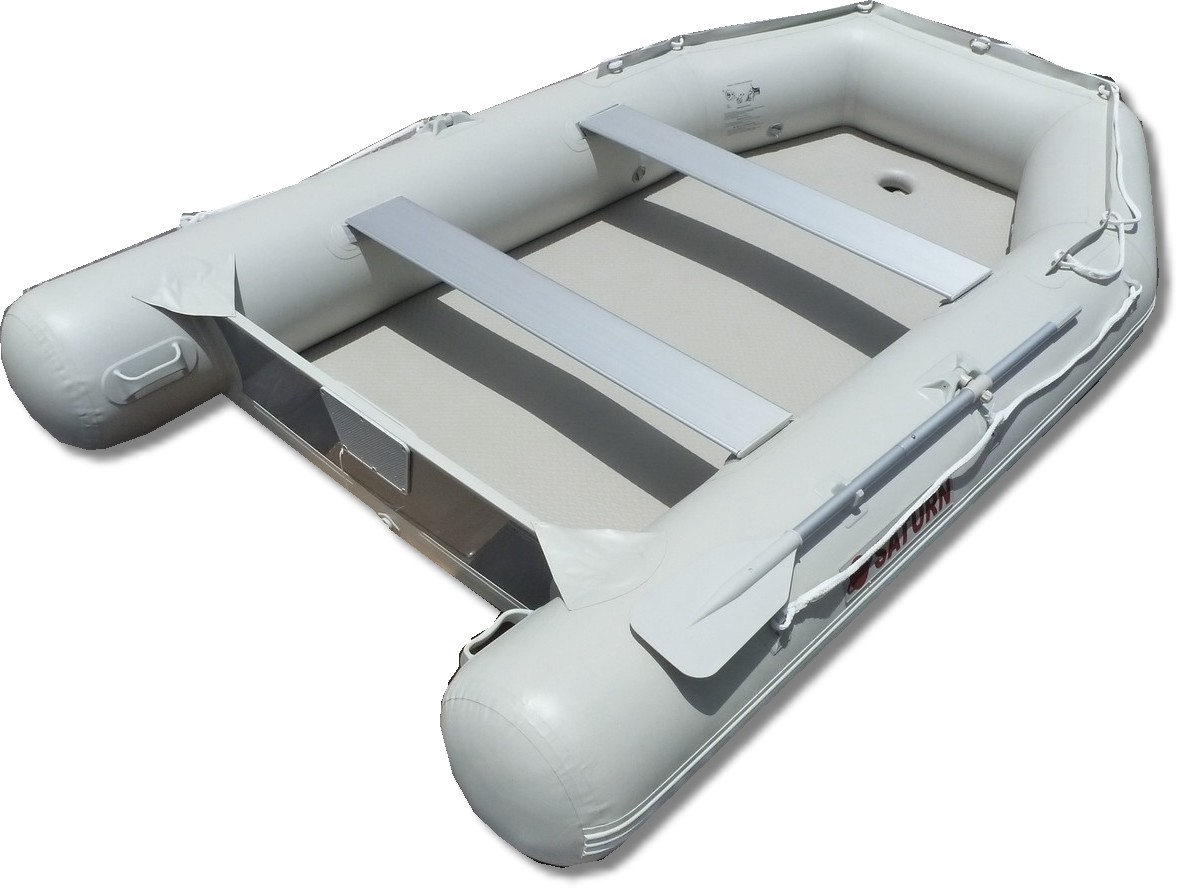 11' Saturn Wide Dinghy SD330W - Light Grey