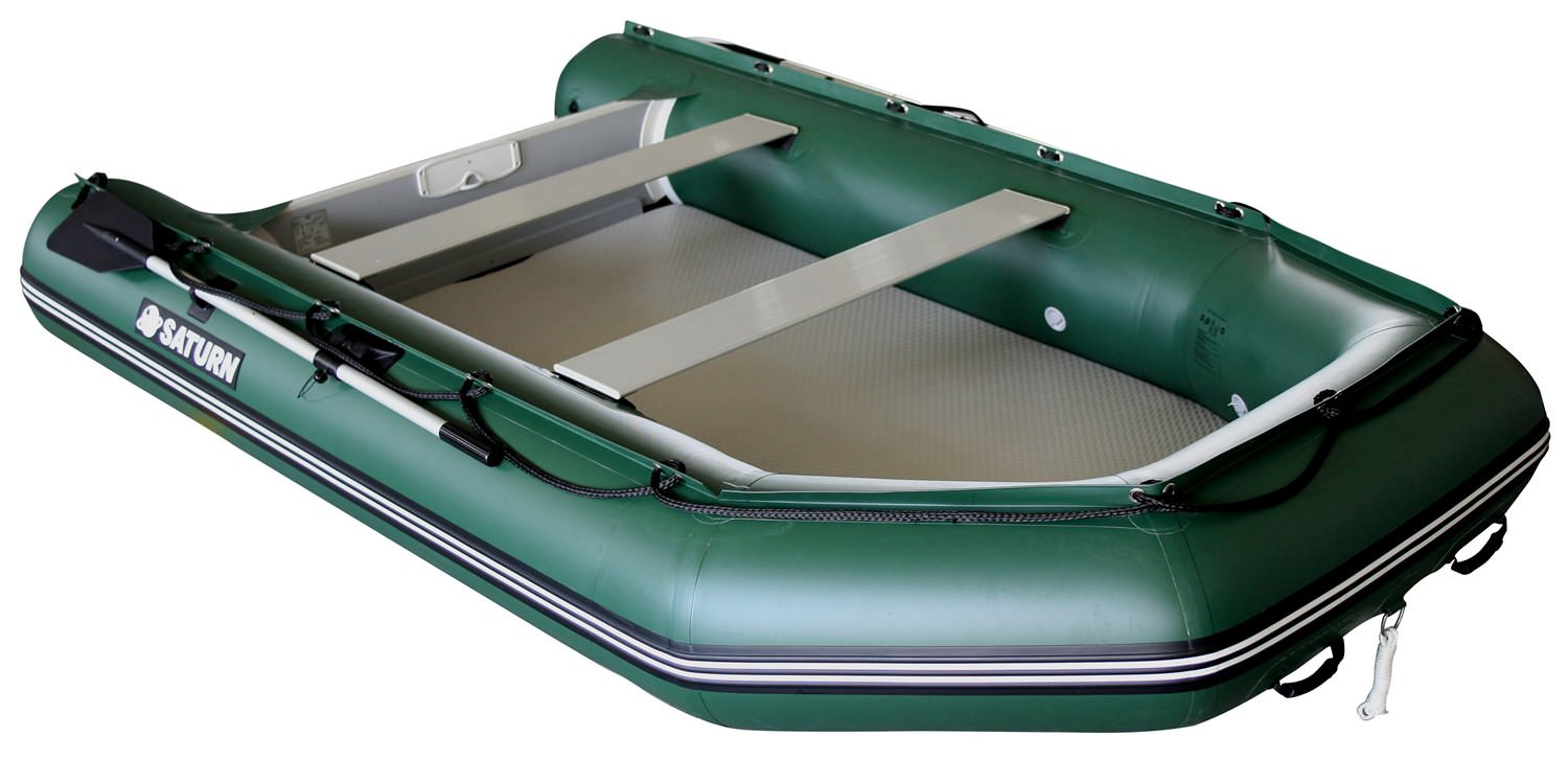 11' Saturn Wide Dinghy SD330W - Green