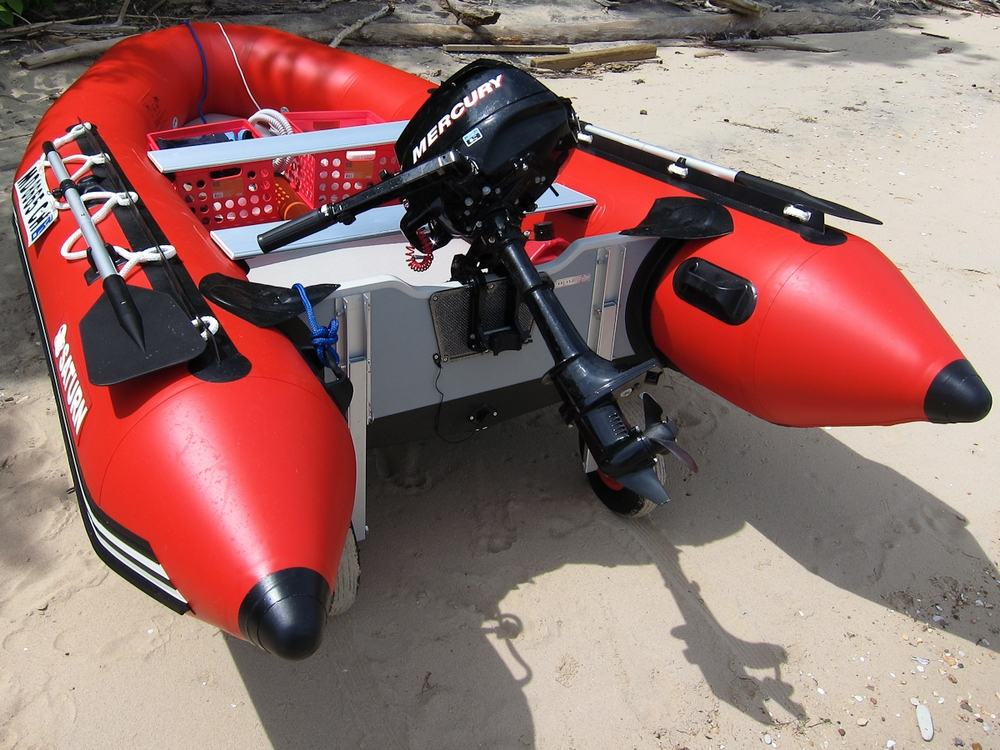 12' Saturn Inflatable Boat with Motor