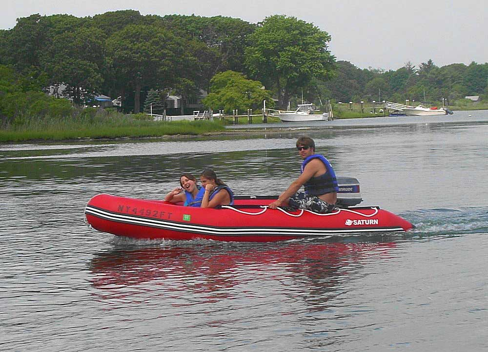 Customer Photos - 13' Saturn Dinghy SD385