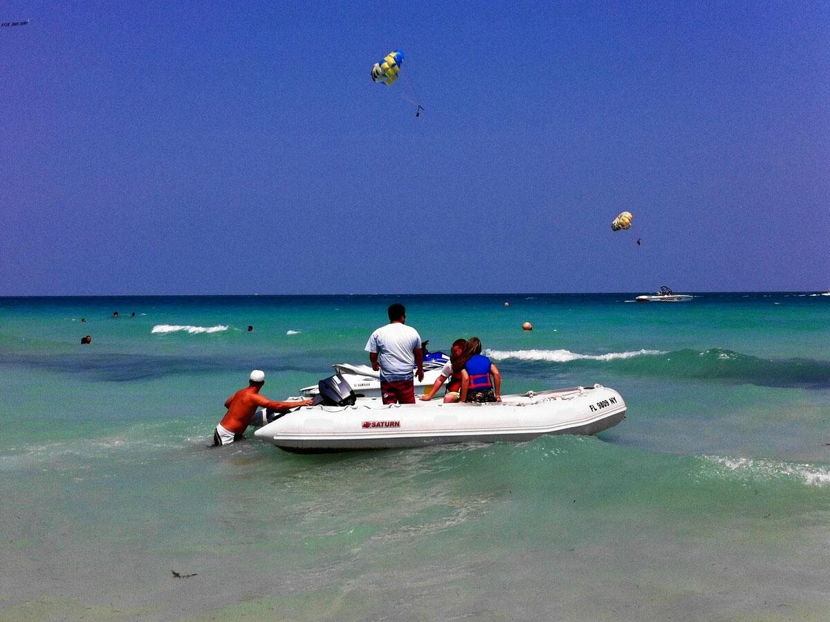 Customer Photo - 15' Saturn Inflatable Boat - SD470 - w/ Aluminum Floor - Saturn XHD470