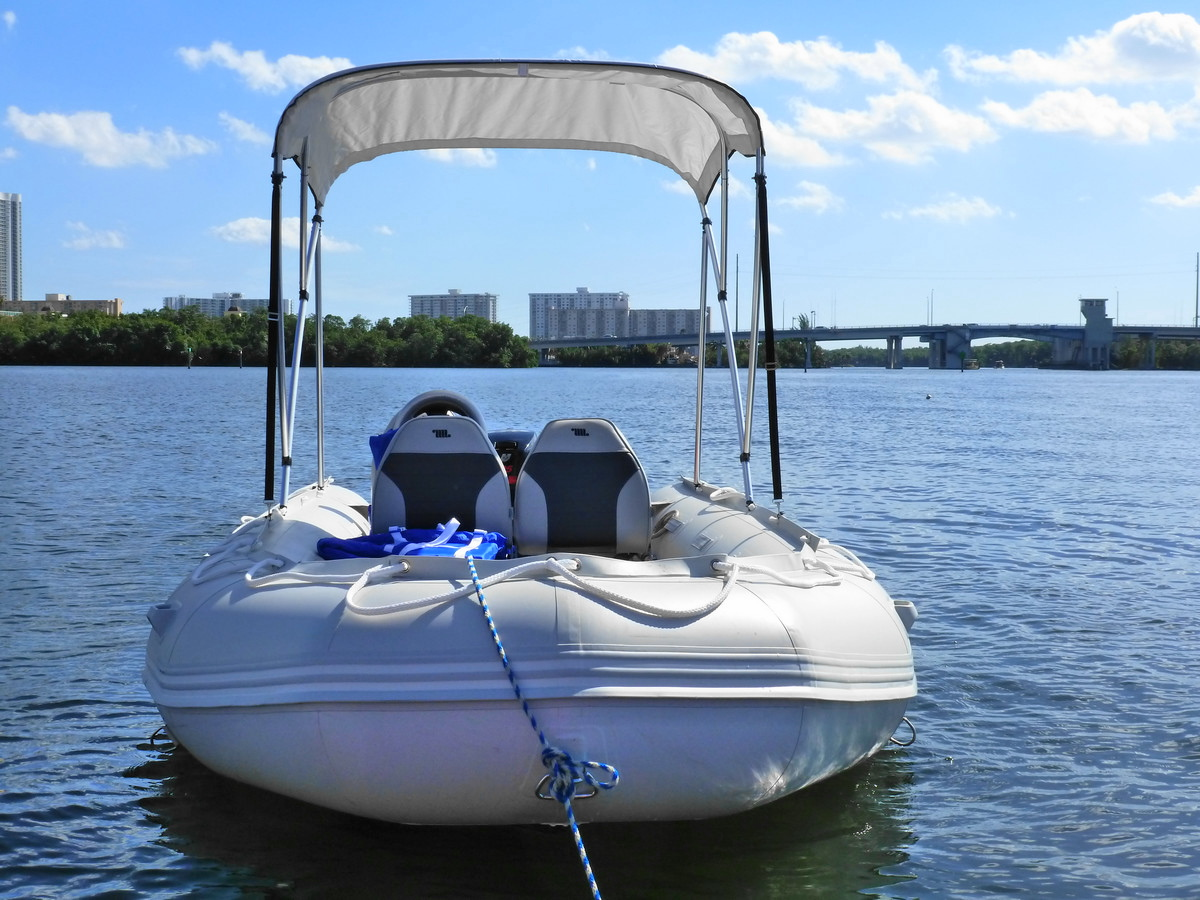 Customer Photo - 15' Saturn Inflatable Boat - SD470 - w/ Aluminum Floor and Upgraded Seats