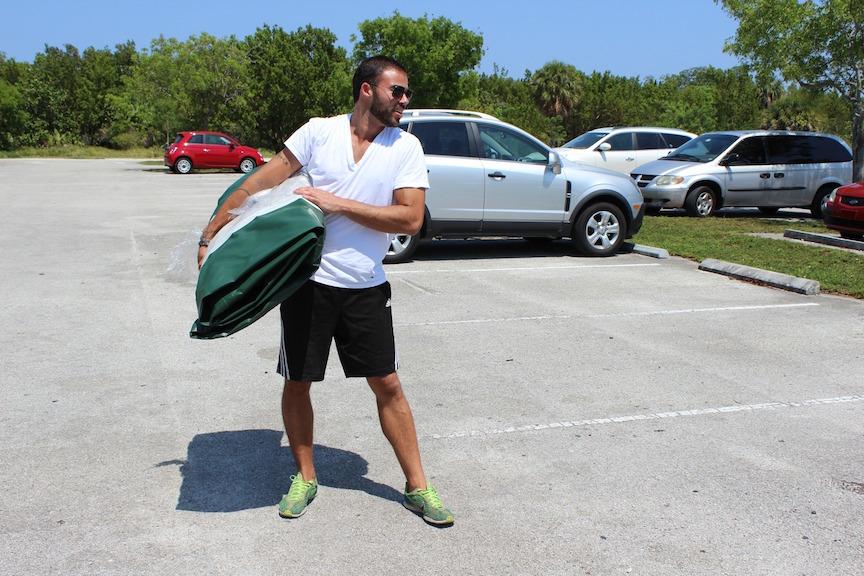 13' Saturn Ocean Fishing Kayak - Easy to Carry