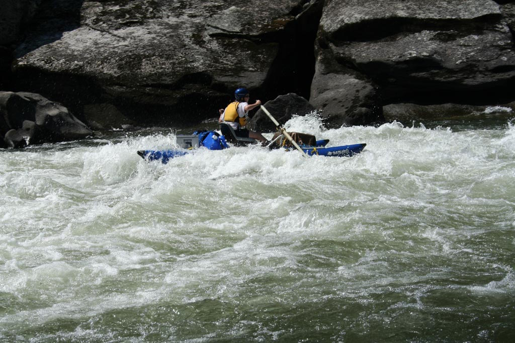 Customer Review Photo - 14' Saturn Cataraft in Class IV Whitewater