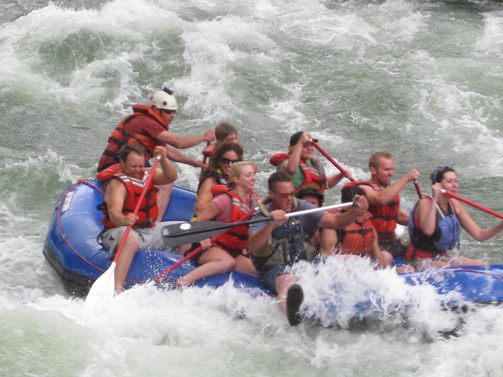 Customer Photo - 16' Saturn Whitewater Raft - Oh Yeah!