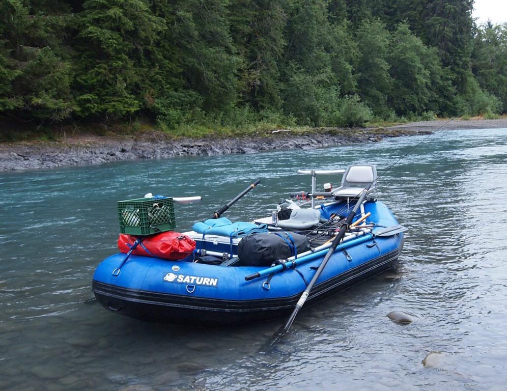 Customer Photo - 14' Saturn Whitewater Raft - Multi-Day Camping Trip