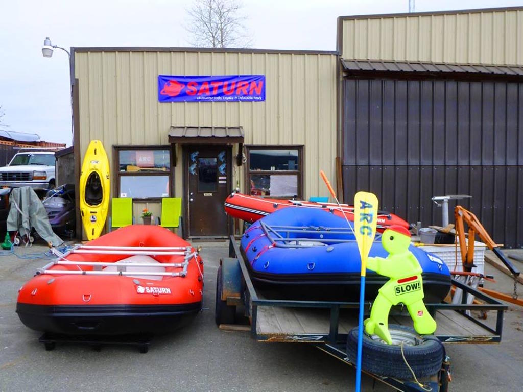 Customer Photo - 14' Saturn Whitewater Raft - Alaska Raft Connection Rentals