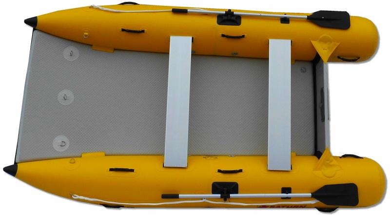 11' Saturn Inflatable Catamaran MC330 - Top View