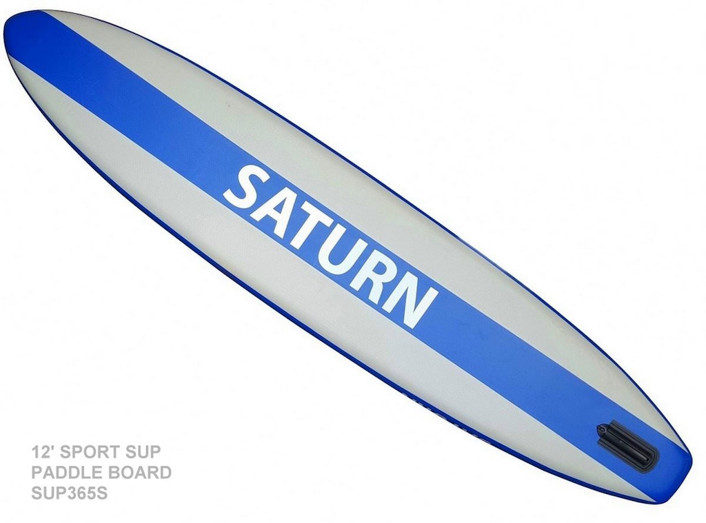 12' Saturn Sport SUP - Removable Fin on Bottom