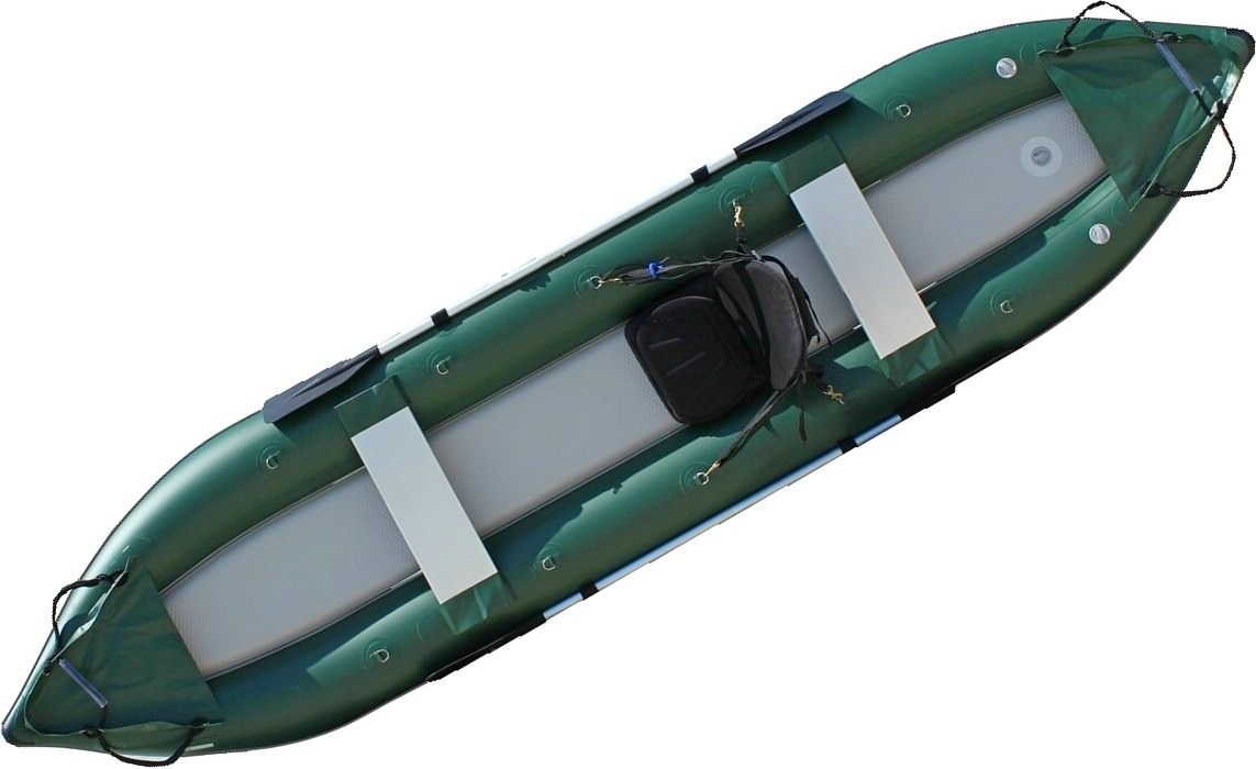 All New OFK396X 13' Saturn Ocean Fishing Kayak (Shown With Optional Highback Kayak Seat Attached)