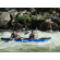 Customer Photo - 13' Saturn Whitewater Kayak WK396 Blue in Class III Whitewater