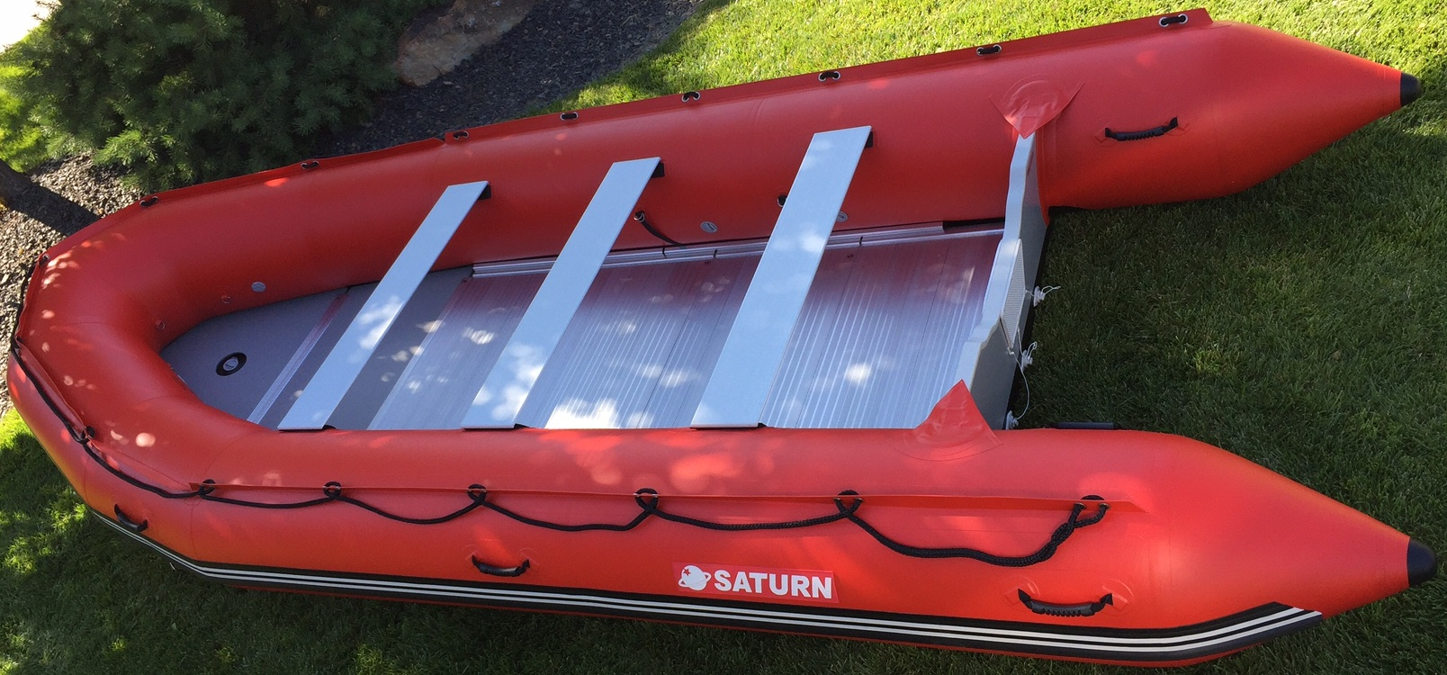 18' Saturn Inflatable Rescue Boat
