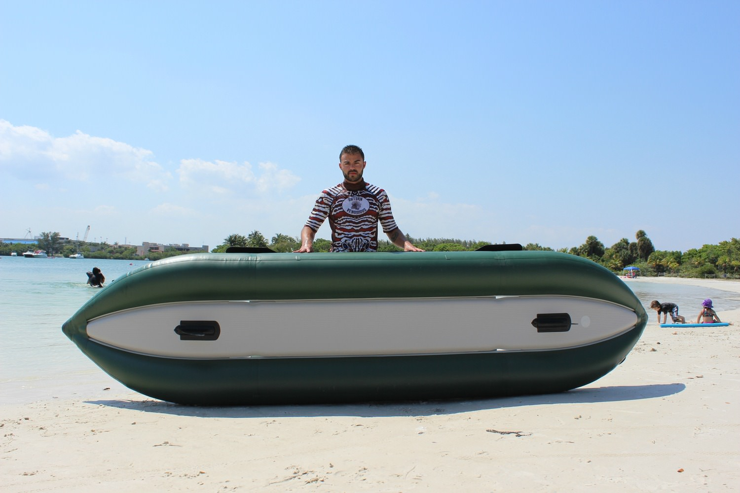 13' Saturn Ocean Fishing Kayak Floor