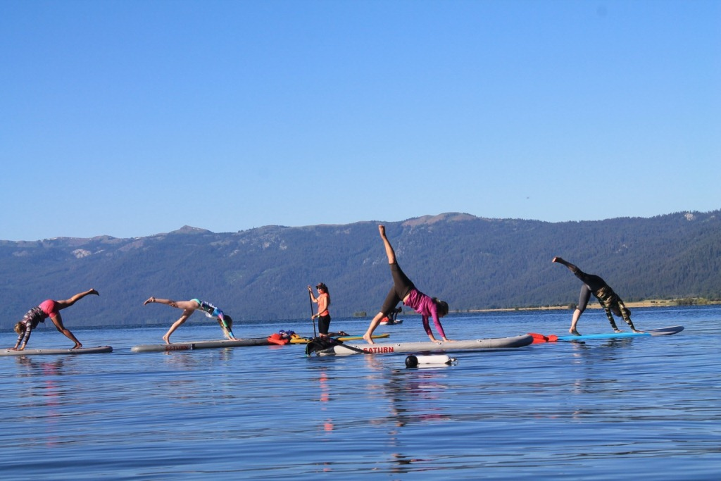 11' and 12' Saturn Superior SUPs - Yoga on the Water