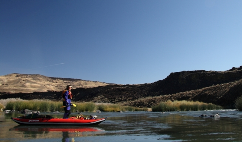 12' Saturn Whitewater Kayak - Clear Skies