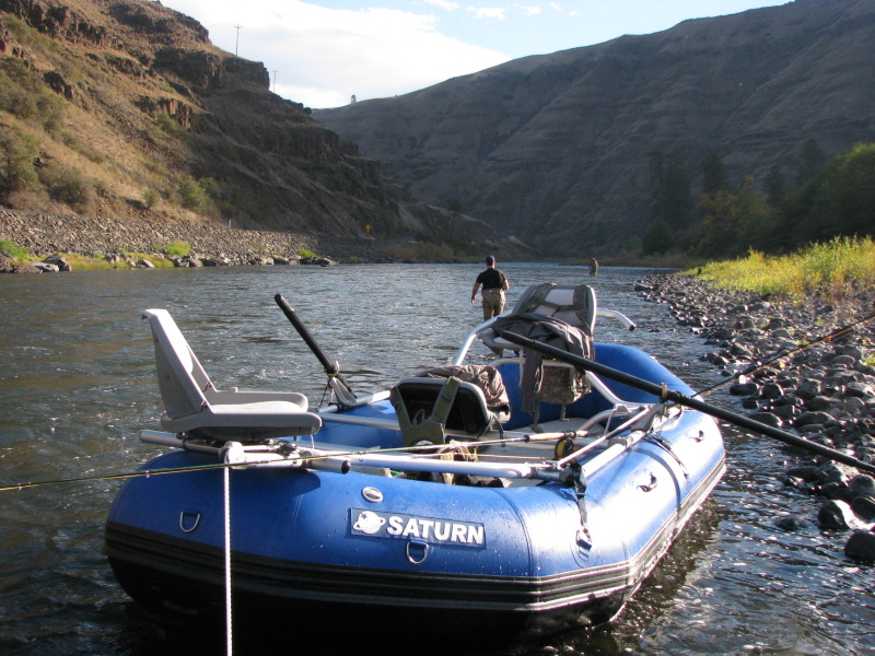 14' Saturn Raft with Fishing Frame