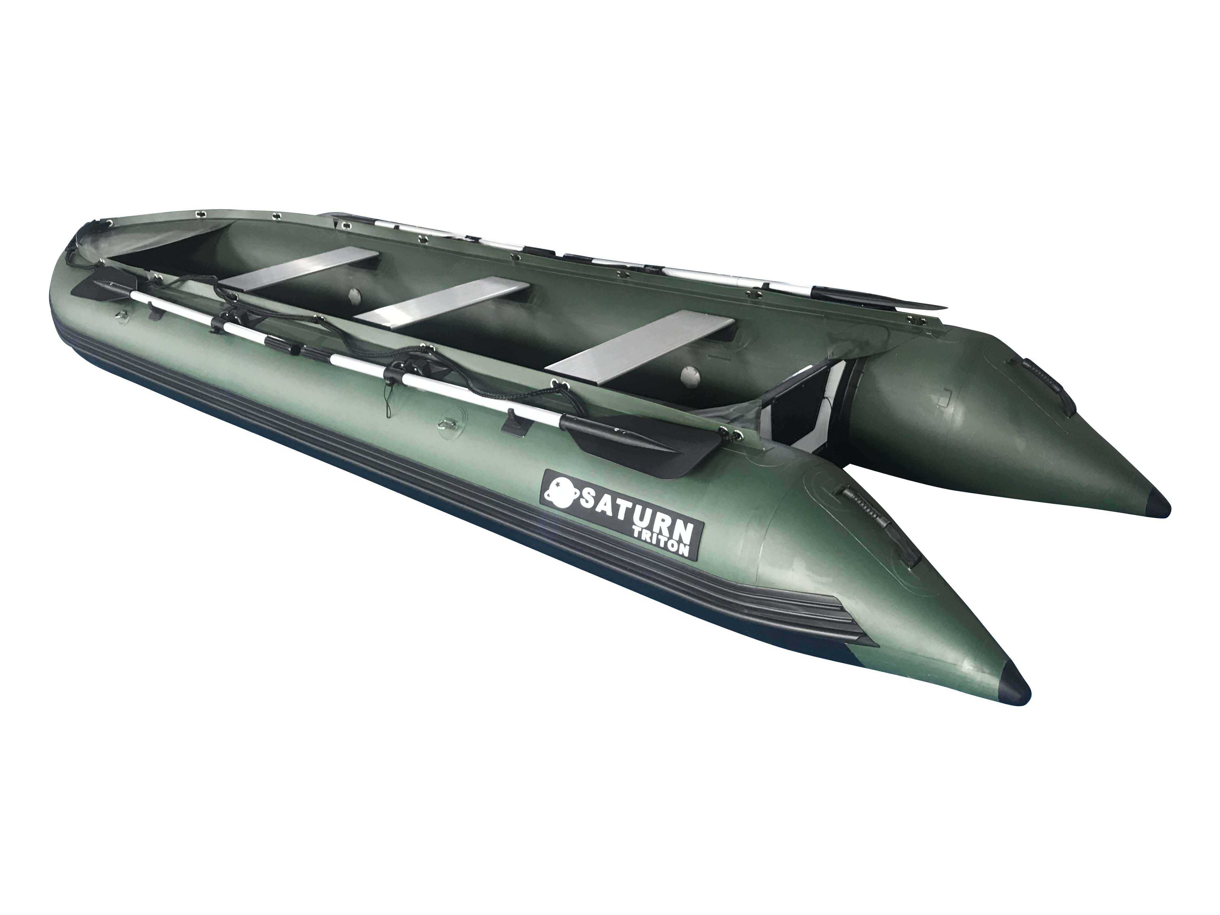 15' Saturn Triton Outfitter Series KaBoat - Green