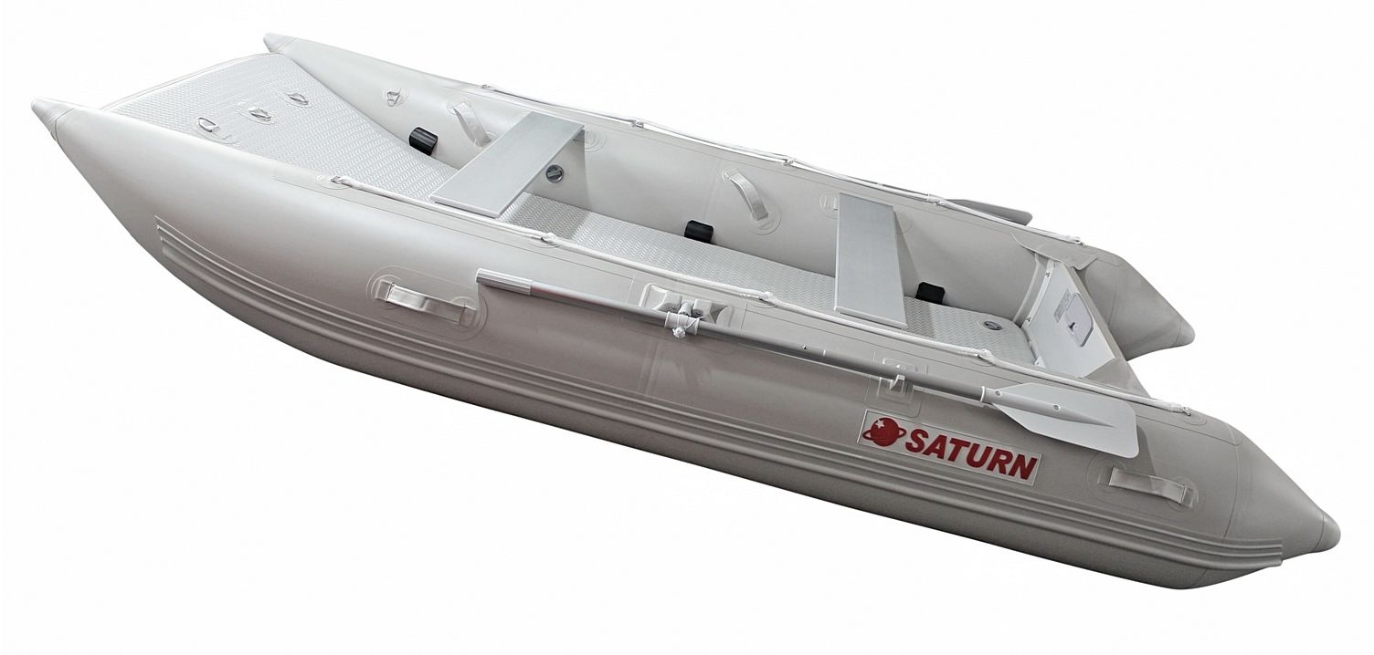 2021 12' Saturn Catamaran - Light Grey