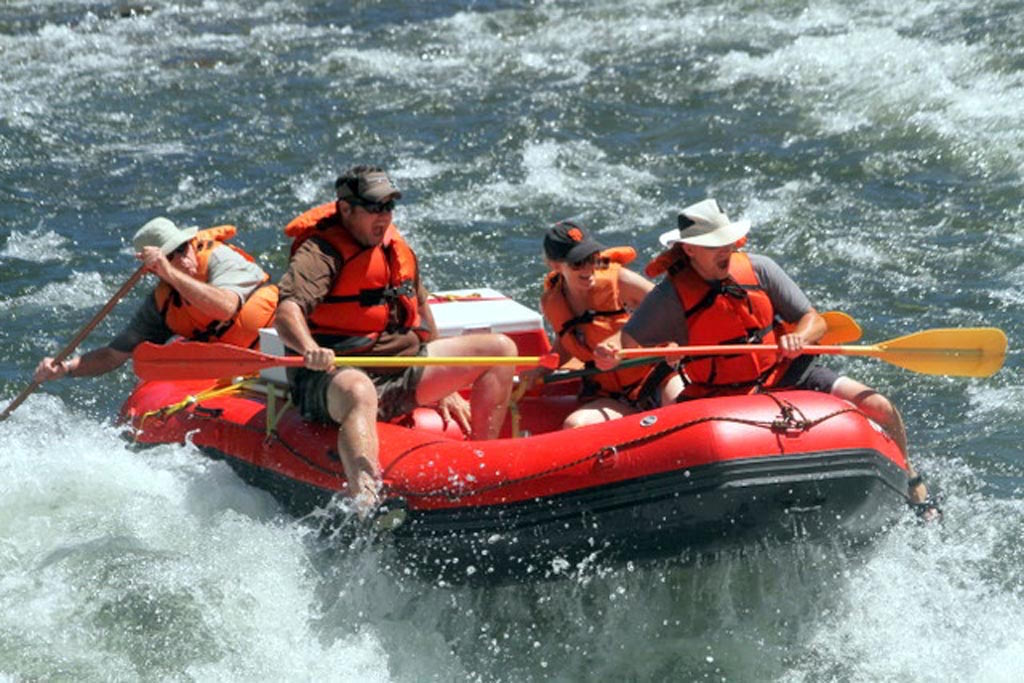 Customer Review Photo - 15' Saturn Whitewater Raft (Red)