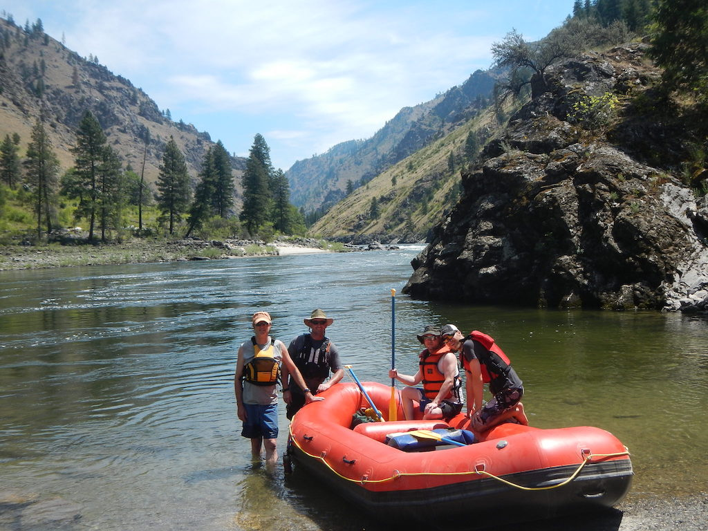 Customer Photo - 14' Saturn Whitewater Raft - Salmon River Fishing Trip