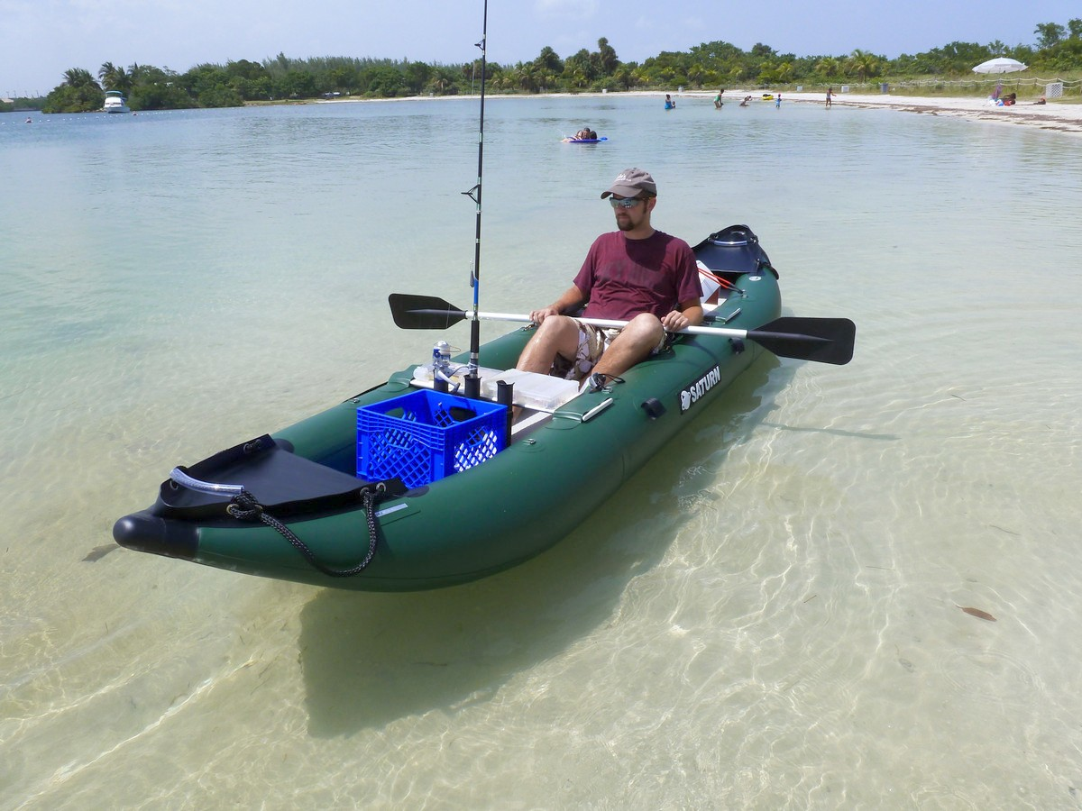 Inflatable Sea Fishing Kayak Uk - Image Of Fishing