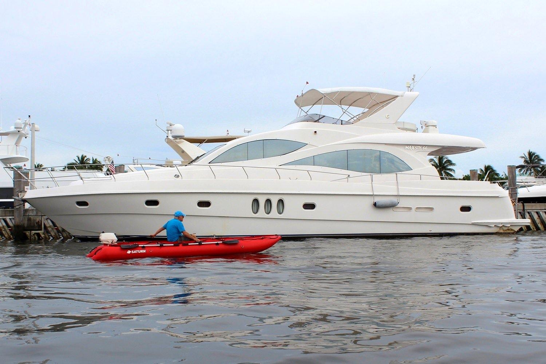 15' Saturn KaBoat SK470 - Red - Nice Boat!