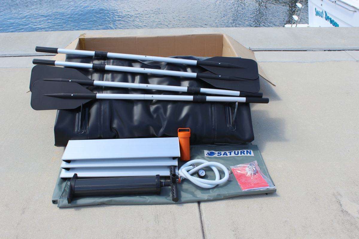 15' Saturn Inflatable XL KaBoat Accessories
