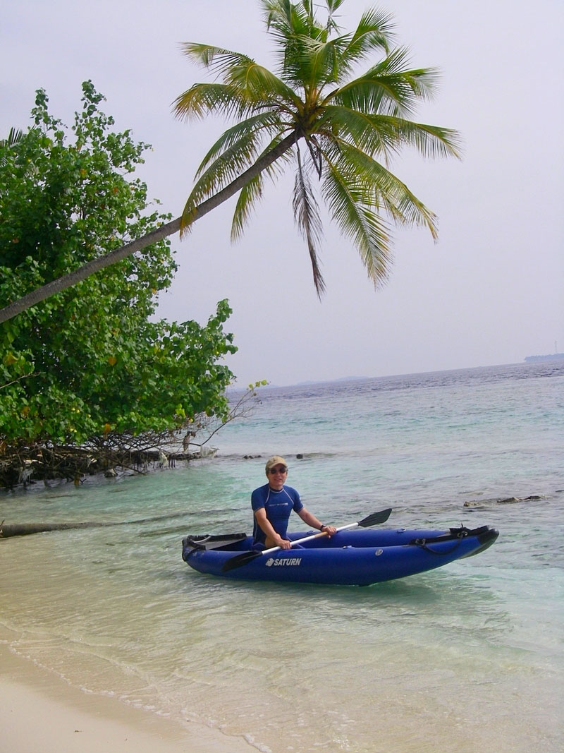 Customer Photo - 13' Saturn Inflatable Expedition Kayak RK396 - Explore The Ocean