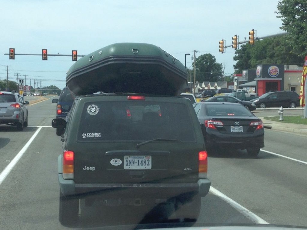 "Customer Photo - 9'6"" Saturn Whitewater Raft - Easy Transport"
