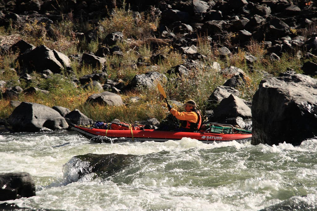 Rob Lyons - 13' Saturn Whitewater Kayak WK396 - Multi-Day Owyhee Canyon Float
