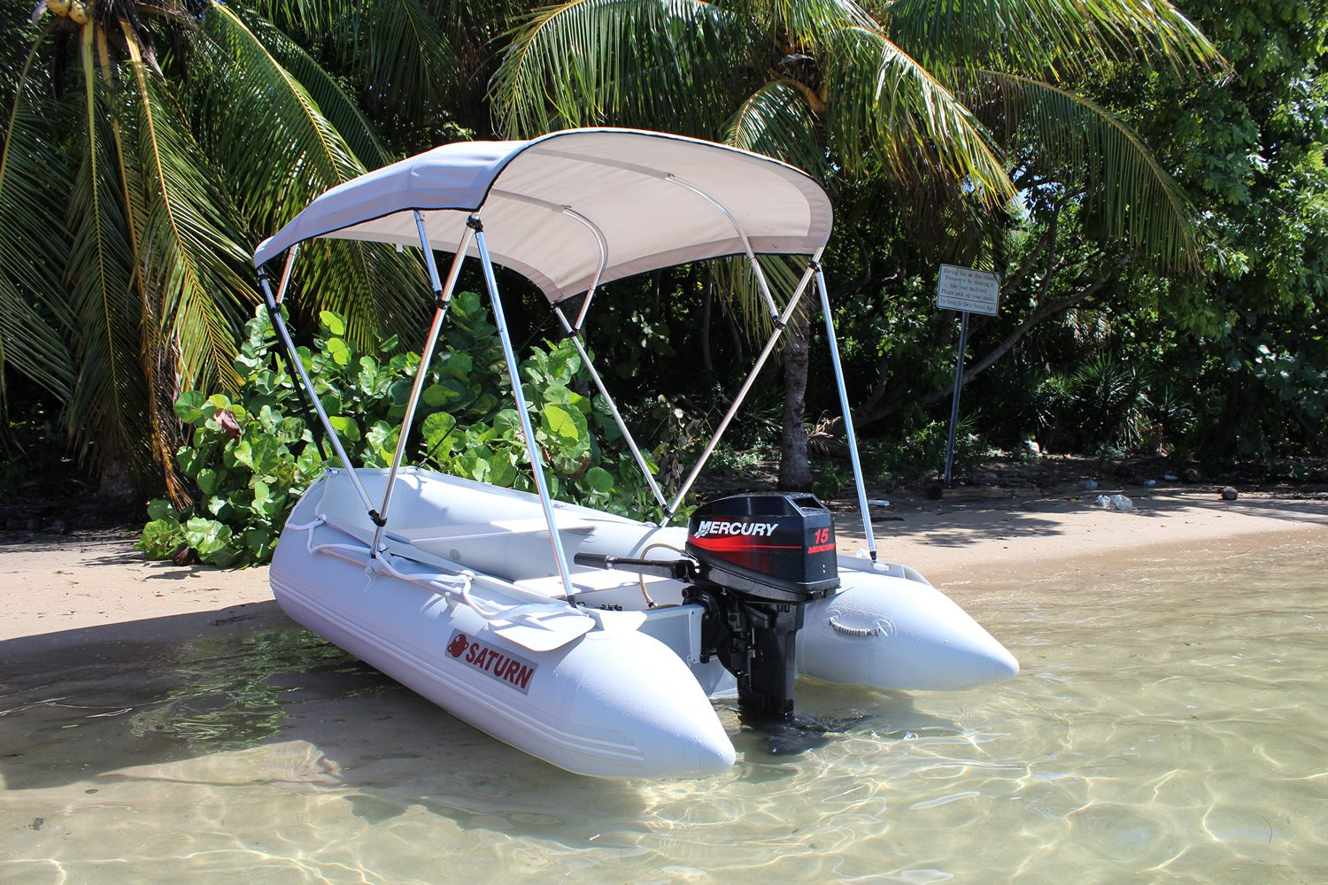 11' Saturn Inflatable Boat Dinghy SD330